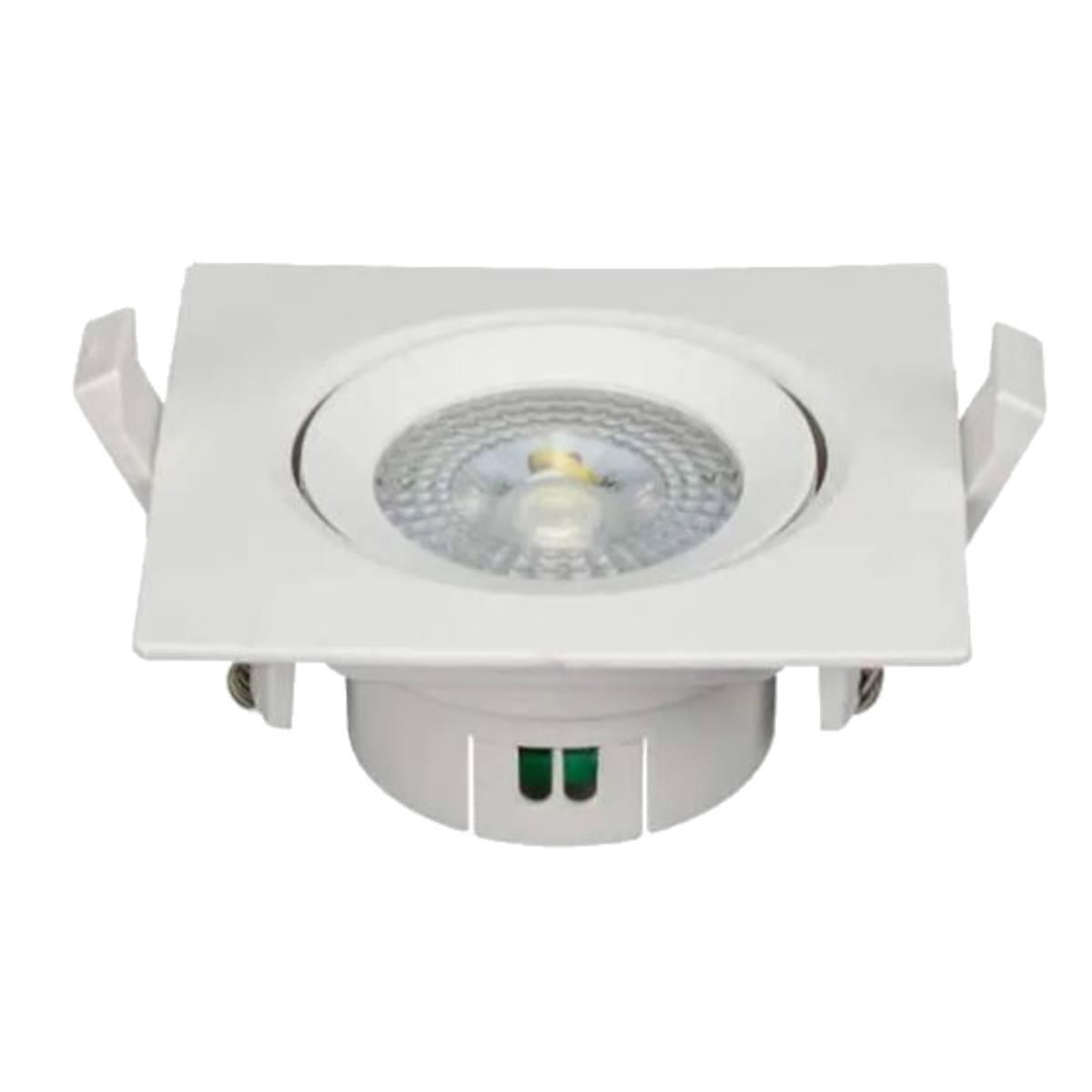 Kit 10 Spot Led 5w Lampada Direcionável Branco Quente 3000K OL