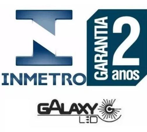 Kit 5 Lampada Led Bulbo 9w Bivolt Soquete E27 A60 Galaxy