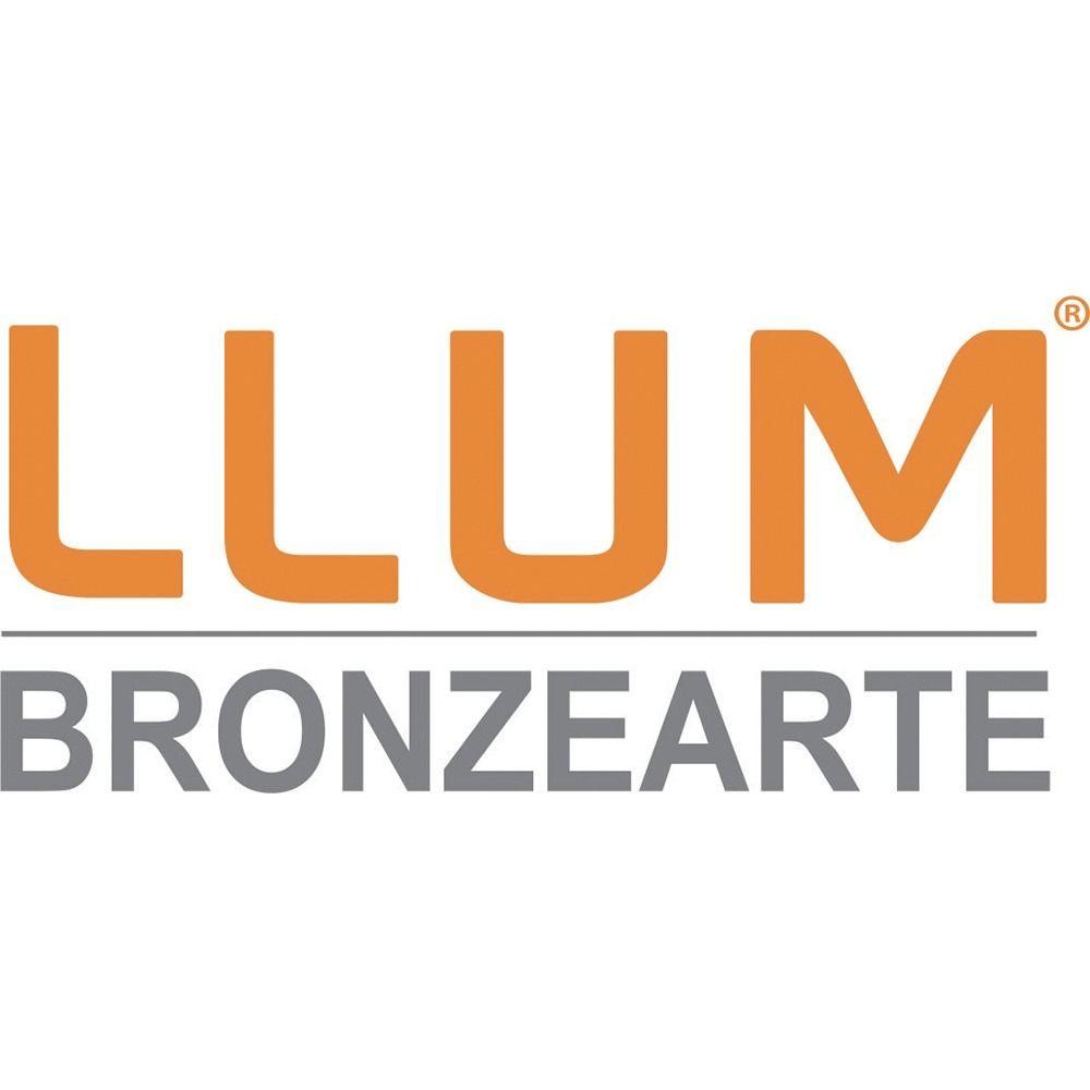 Kit 5 Luminárias Led de Embutir Amarela Redonda LLUM - 10W 127V