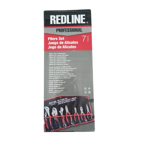 Kit de Alicates com 7 Peças REDLINE