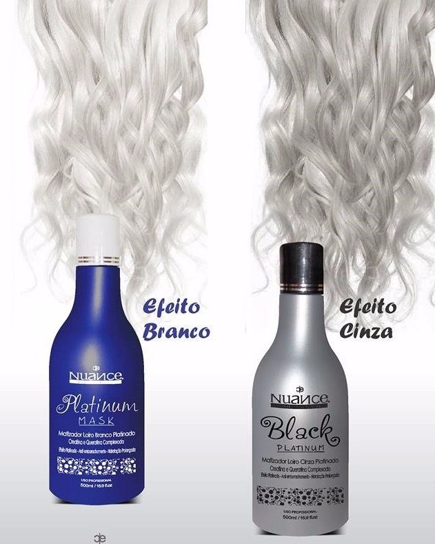 KIT MATIZADOR BLACK PLATINUM + PLATINUM MASK + PÓ DESCOLORANTE + OX 30 NUANCE