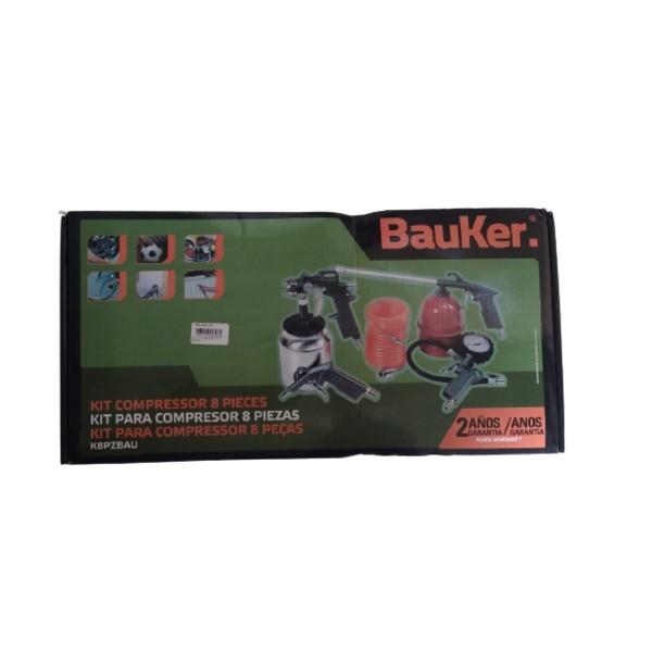 Kit para Compressor com 8 Peças BauKer