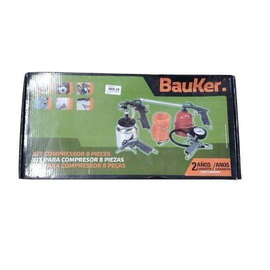 Kit para Compressor Com 8 Peças - BauKer