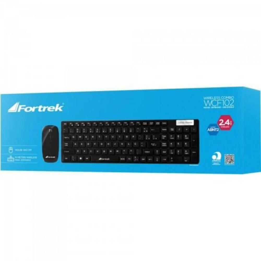 Kit Teclado + Mouse Fortrek  Wcf-102  Wireless