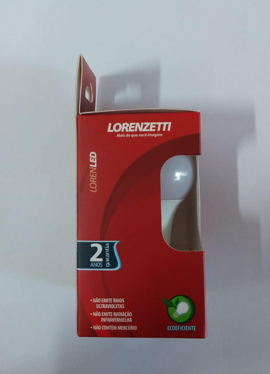 Lâmpada Led Bulbo Branca Lorenzetti - 9W