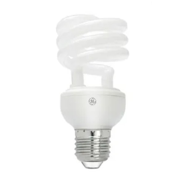Lâmpada Fluorescente Compacta Espiral GE - 18W 127V