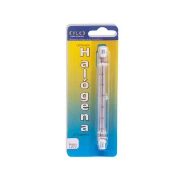 Lâmpada Halógena Palito de Tungstênio FLC - 100W 127V