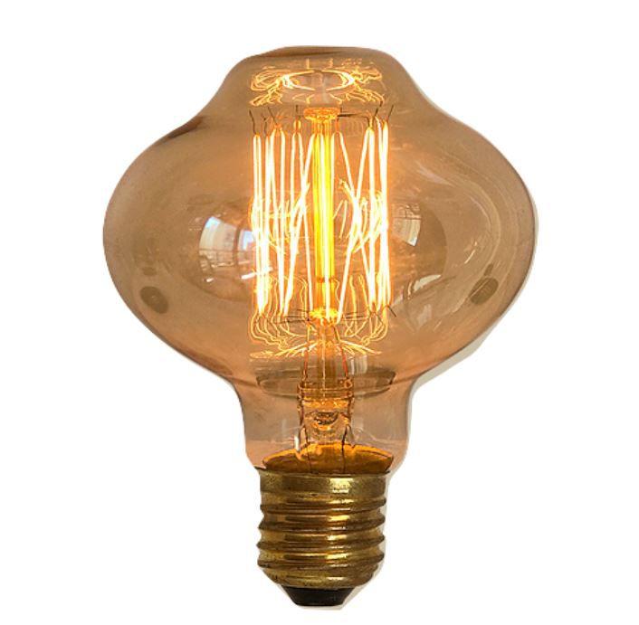 Lampada Retro Vintage Filamento Led Leaf 40w 127v