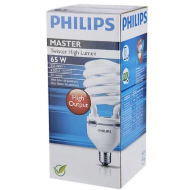 Lâmpada Twister High lumen Philips - 65W 127V