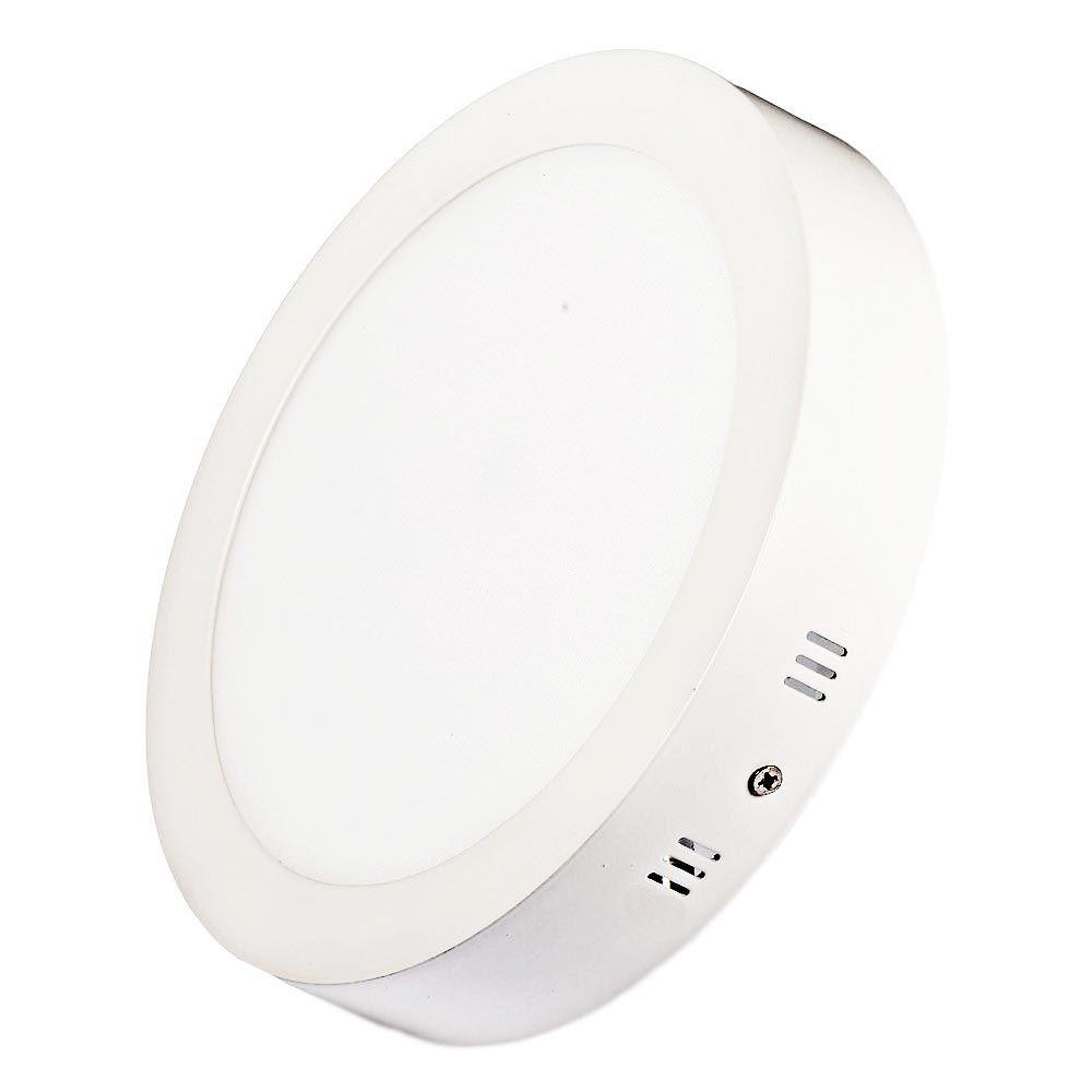 Luminária Sobrepor  Plafon LED Redondo 6W Branco 6000K Maxtel