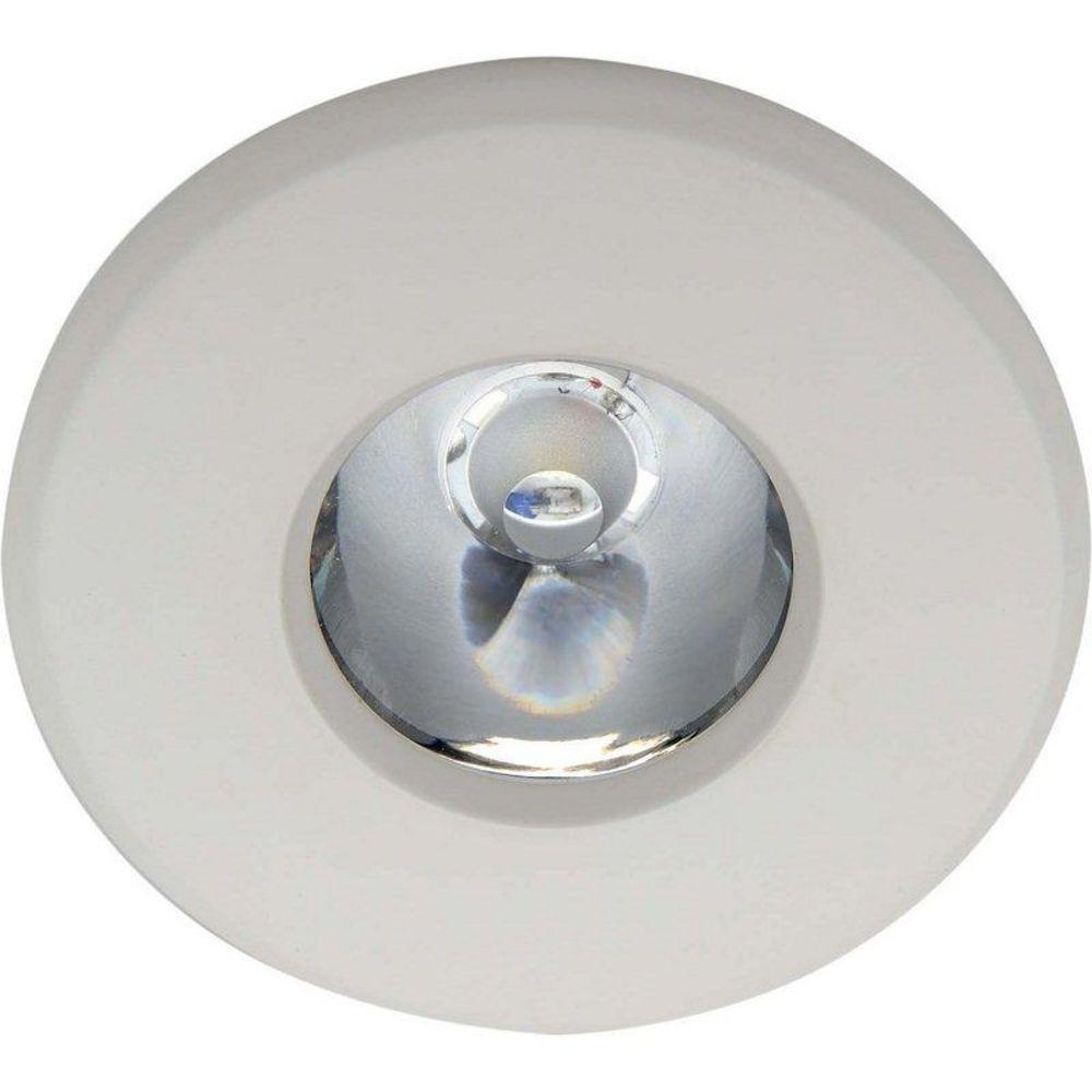 Luminária de Embutir Redonda ACQUA PLUS Led Waterproof 3000K LLUM - 3W