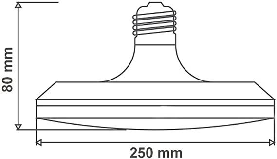 LUMINARIA DE LED UFO 30W - 6500K TRAMONTINA