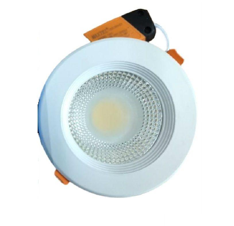 Luminaria Embutir Spot Downlight 12W COB1412 Maxtel