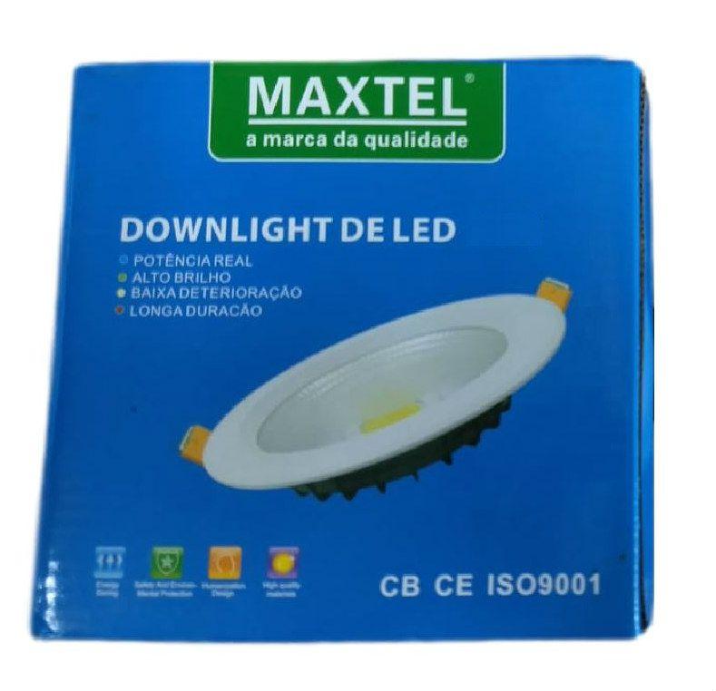 Luminaria Embutir Spot Downlight 24W COB1424 Maxtel