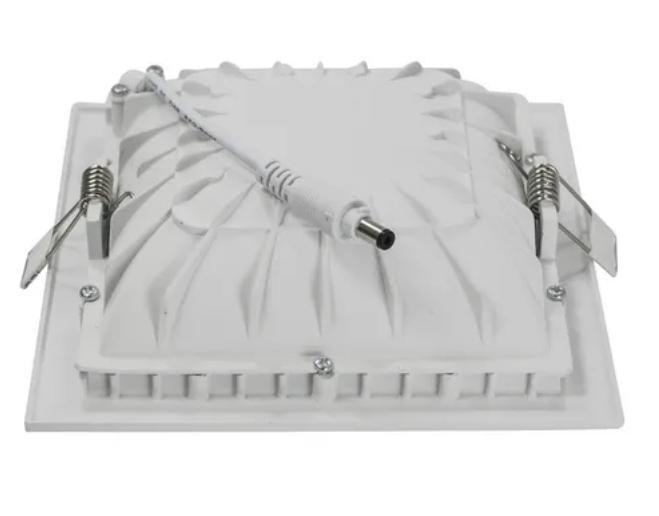Luminária Led de Embutir Quadrada Luz Indireta MBLED - 12w