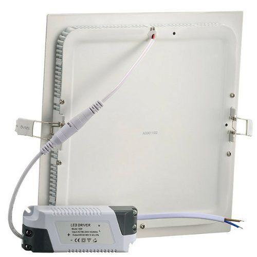 Luminaria LED Plafon Embutir Quadrado 24W 6000K UPLED