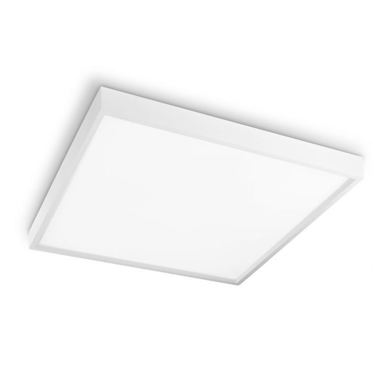 Luminaria LED Plafon Sobrepor Quadrado 36W 6000K Up Led