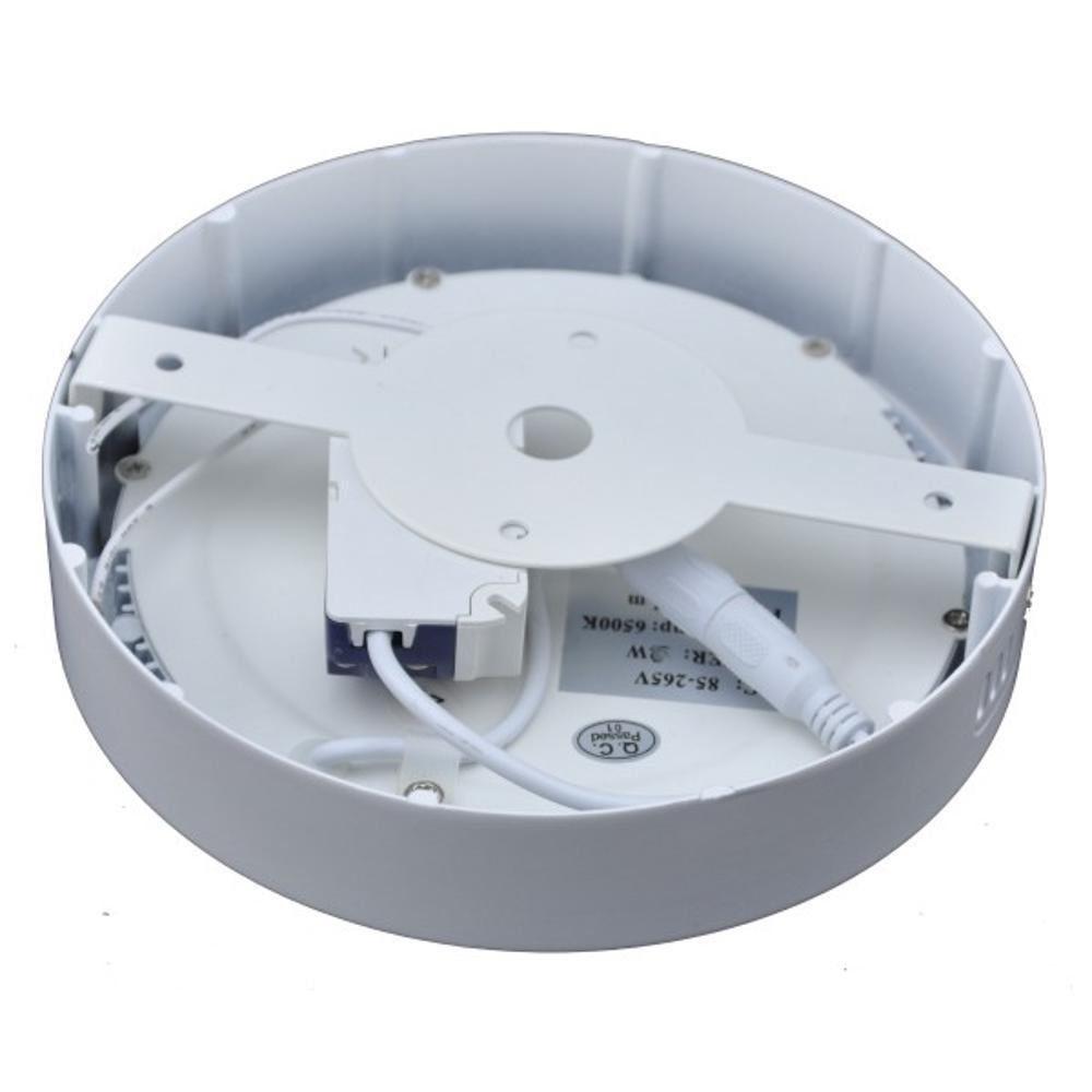 Luminaria LED Plafon Sobrepor Redondo 32W 3000K Maxtel
