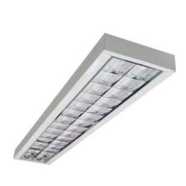 Luminária Sobrepor  2X28W T5 Llum