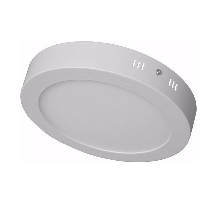 Luminária Sobrepor Plafon LED Redondo 12W 3000K Maxtel