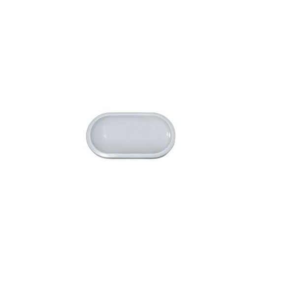 Luminária Tartaruga Led de Sobrepor Fit Oval Branca Startec - 8W