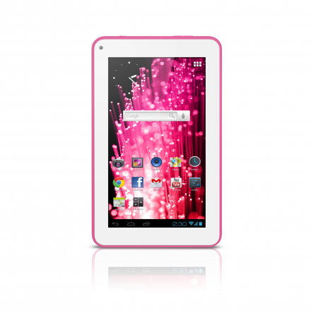 M7s Quad Core Tablet Wi-fi - 7? Rosa Multilaser - NB186
