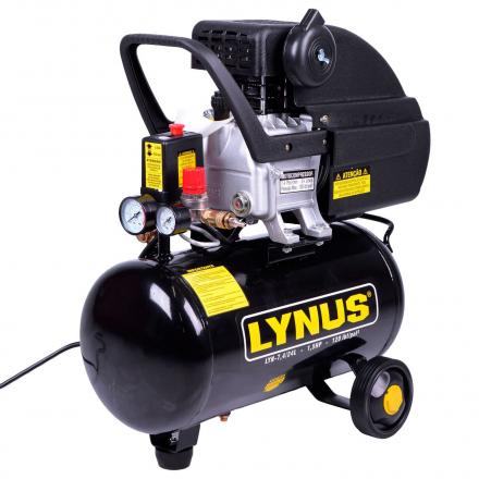 Motocompressor De Ar 7,4 Pcm 1,5hp Lyn 7,4/24l Lynus 220v