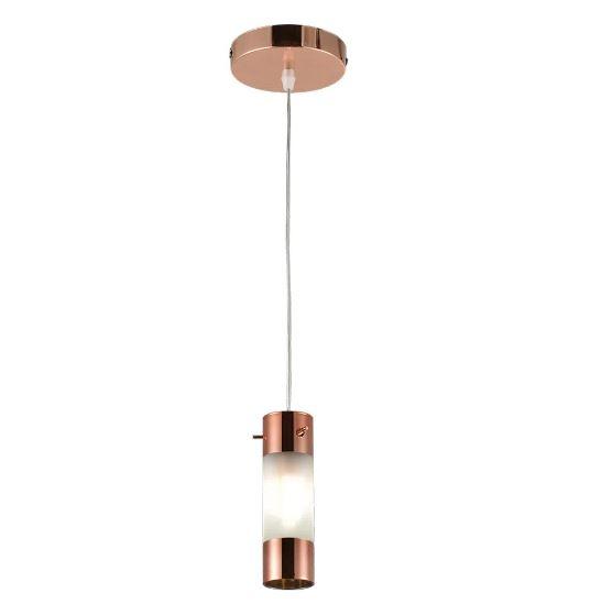 Pendente Bronzearte Elegance 1 Lâmpada G9 Bivolt - Cobre