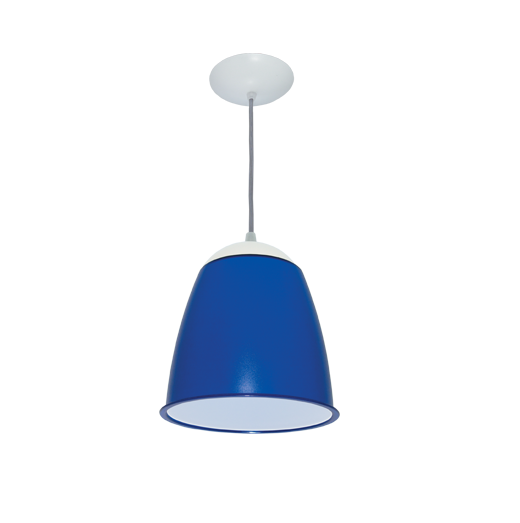 Pendente Compacta Decorativo Estilo Azul Ut5-6 Utron