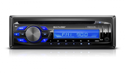 Radio Cd-player Freedom Mp3 Multilaser - P3239