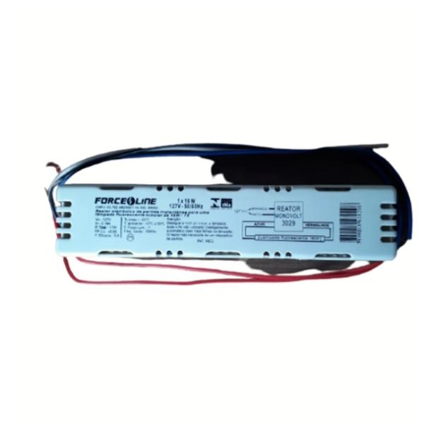 Reator Eletronico 1x16w 1 lâmpada 127v Force line