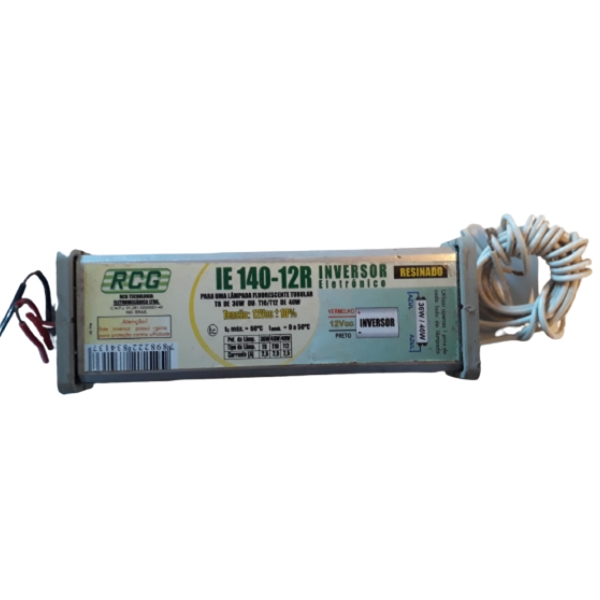 Reator Eletrônico 1x40wx12v Rcg