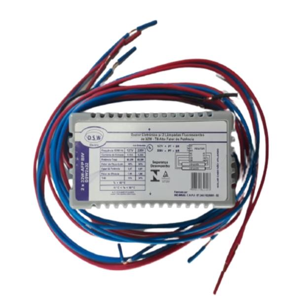 Reator Eletrônico 2xT8 31w Afp Bv- Lumi-lar