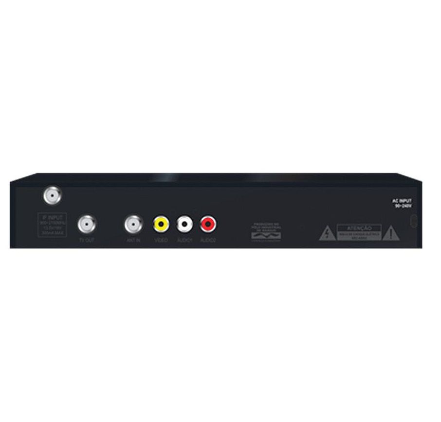 Receptor de Tv Digital Analogico Duomax ETRS49 Elsys