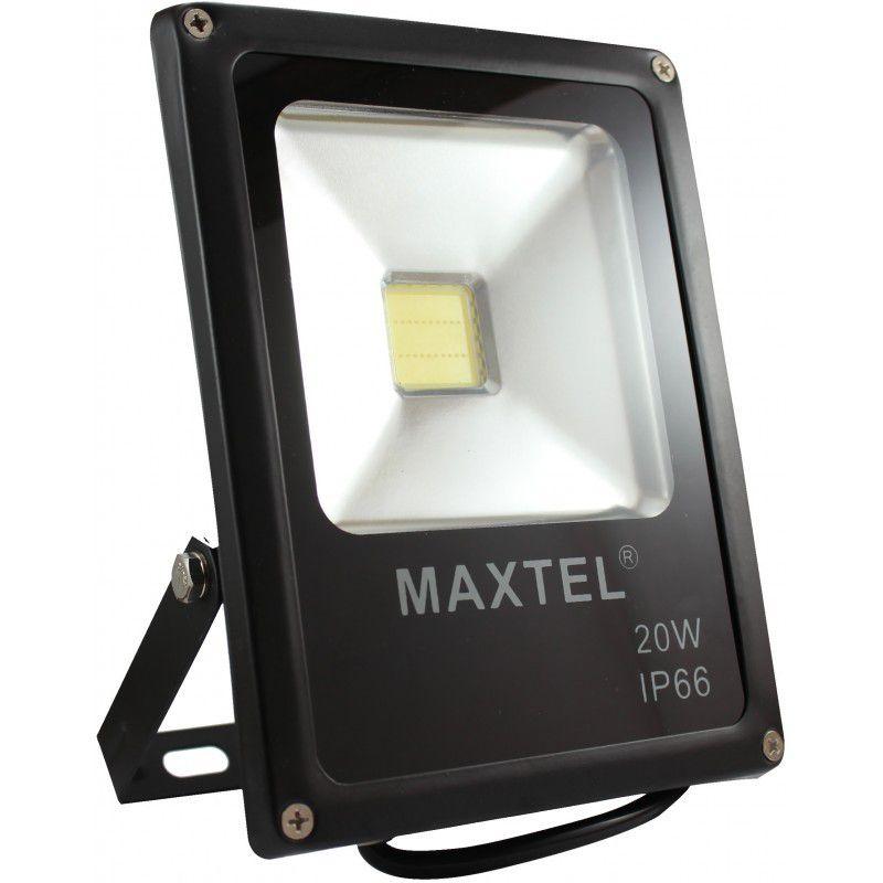Refletor LED 20W Branco Frio 6000K MAXTEL