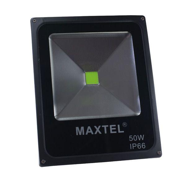 Refletor LED 50W Branco Quente 3000K MAXTEL