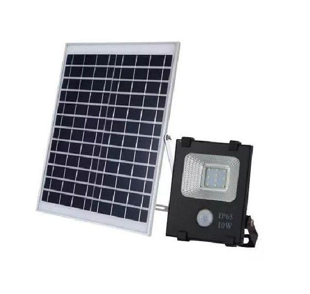 Refletor Led Slim Solar Com Sensor De Presença 10w 6000k America Light