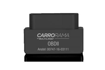 Scanner Automotivo Bluetooth Obdii Carrorama Multilaser - AU