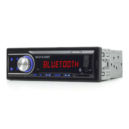 Som Automotivo New Max Rádio Mp3 4x45w BT Multilaser - P3326