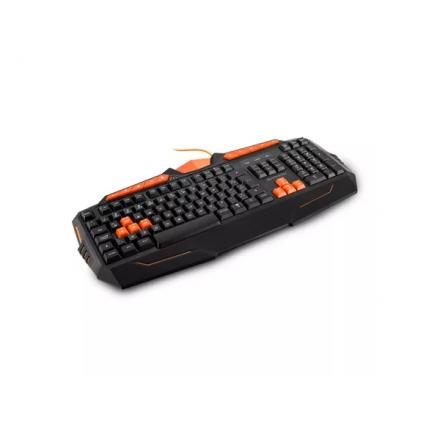Teclado Gamer Multimídia USB Preto/Laranja Multilaser - TC21