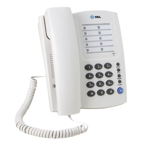 Telefone De Mesa Econômico Centrix Branco Hdl