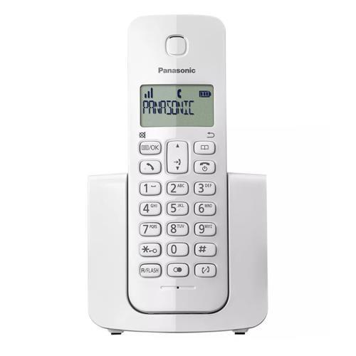 Telefone Sem Fio Panasonic DECT 6.0 KX-TGB110LBW Branco
