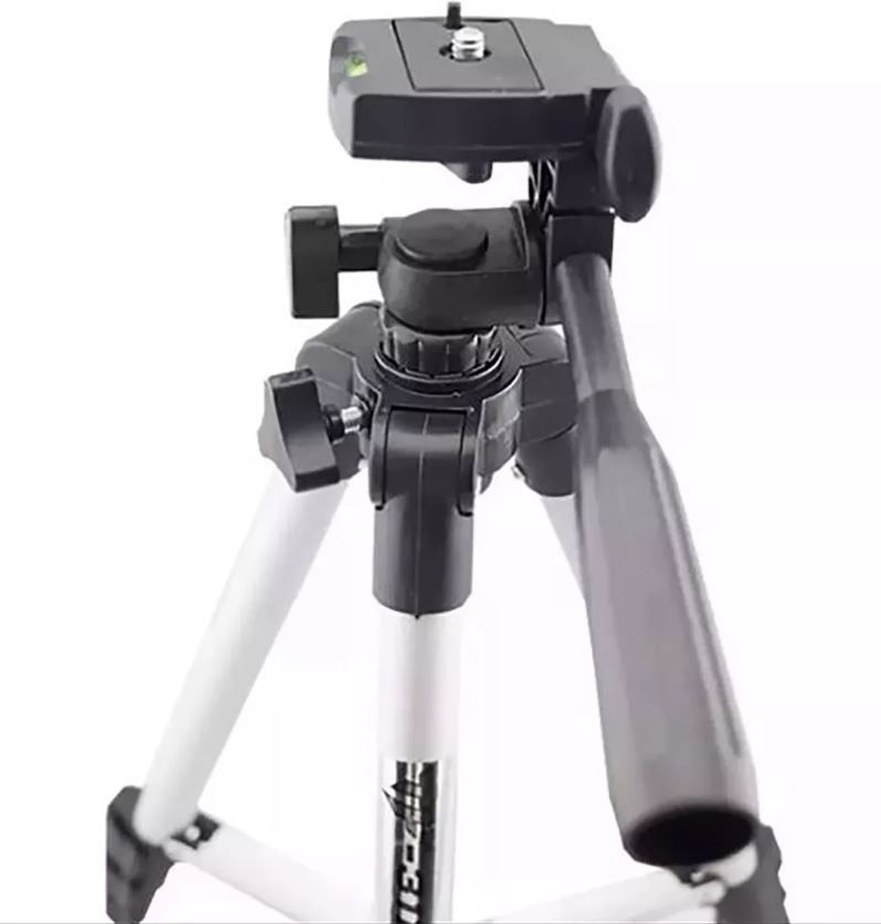 Tripe Universal Telescópico Para Celular E Câmera 1,02 M