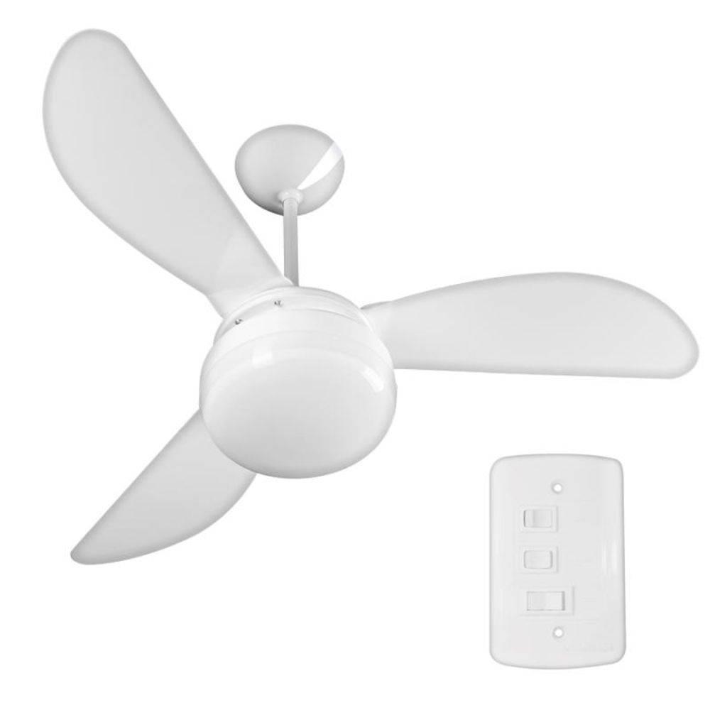Ventilador de Teto 130W Fenix Branco CV3 Ventisol