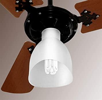 Ventilador de Teto Preto 3 Pás Madeira Venti-Delta - 127V
