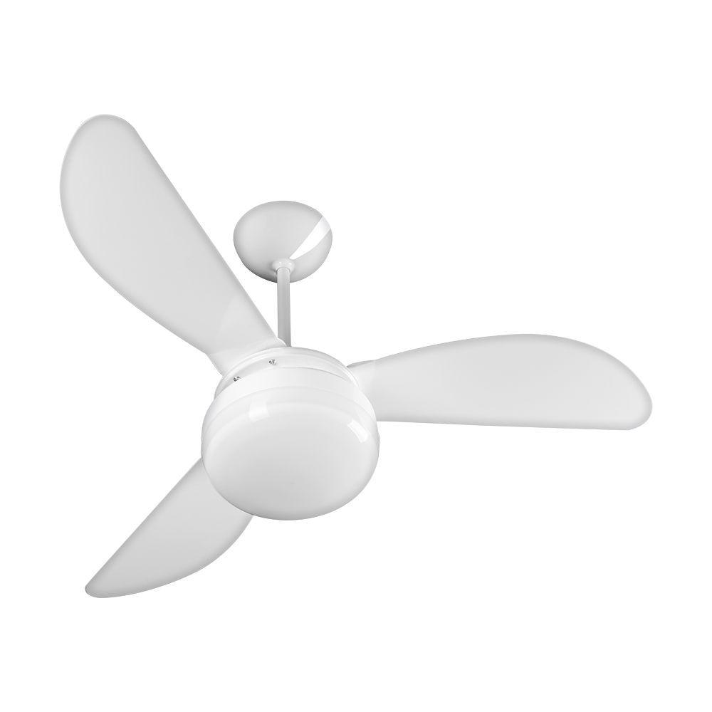 Ventilador de Teto Ventisol Fenix Branco 3 Velocidades - 127v