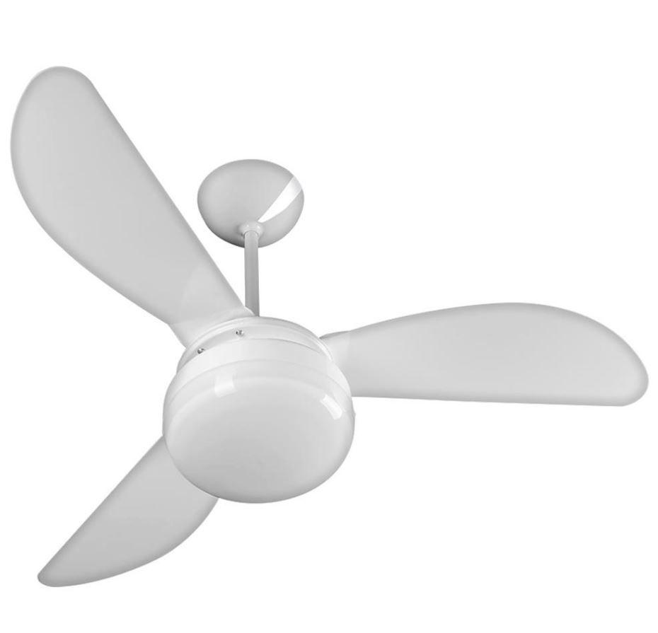 Ventilador de Teto Ventisol Fênix LED Branco 3 Pás  Premium - 110V
