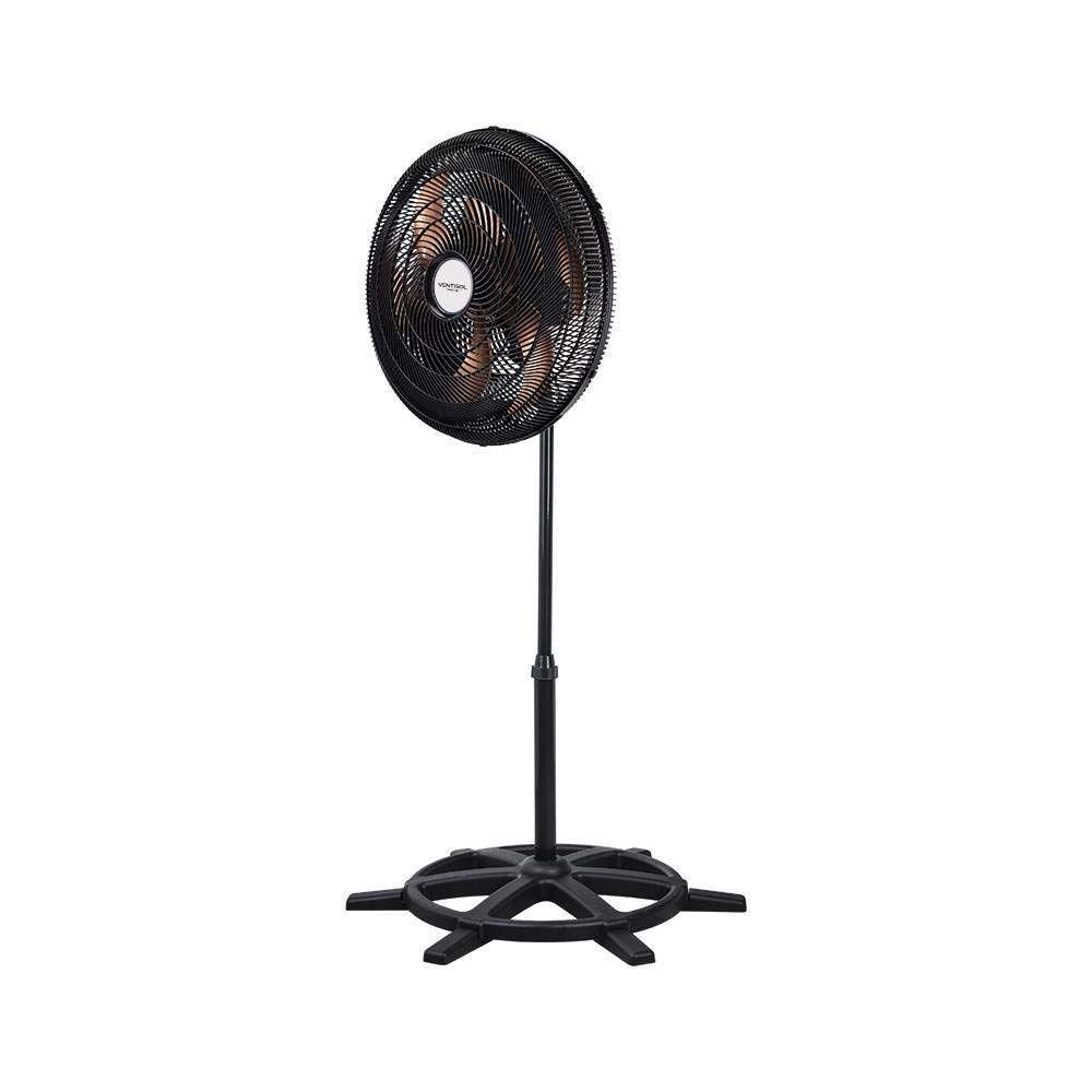 Ventilador De Coluna Turbo 6 50cm Preto e Bronze Ventisol - 110V
