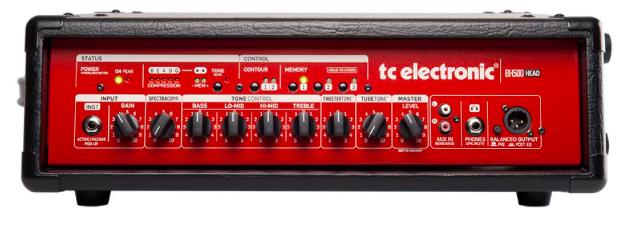 Cabeçote Contrabaixo BH 500 - TC Electronic