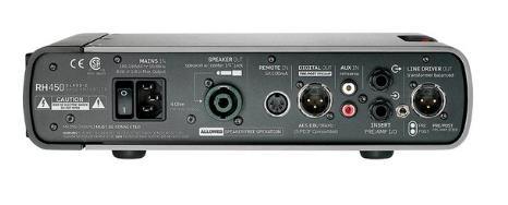 [Mostruário] Cabeçote Contrabaixo RH 450 - TC Electronic